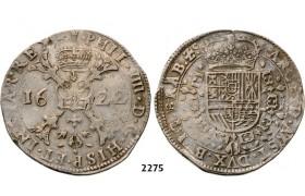 Lot: 2275. Belgium, Brabant, Philip IV. Of Spain, 1621-1665, Patagon 1622, Antwerp, Silver