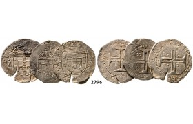 Lot: 2796. Portugal, Lots, Silver lot, 3 coins!