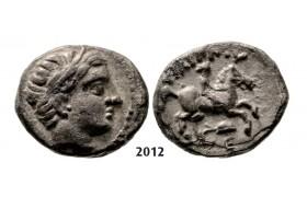 05.05.2013, Auction 2/ 2012. Ancient Greek, Macedonia – Macedonian Kingdom, Fifth-Stater, Amphipolis (Struck 323-315 BC) Silver (2.52g)