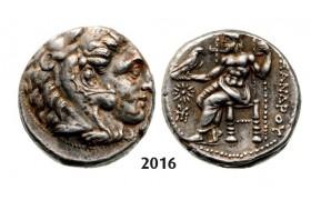 05.05.2013, Auction 2/ 2016. Ancient Greek, Macedonia – Macedonian Kingdom, Tetradrachm (Struck 336-323 BC) Amphipolis, Silver (17.08g)
