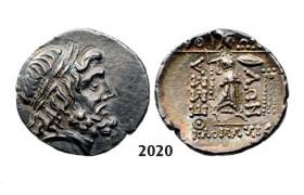 05.05.2013, Auction 2/ 2020. Ancient Greek, Thessaly, Thessalian League Double Victoriatus (Struck 196-146 BC) Silver (5.83g)