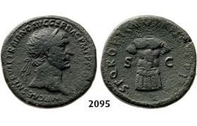 05.05.2013, Auction 2/2095. Roman Empire, Trajan, 103-­111 AD, Æ Dupondius, Rome, Bronze (13.34g)