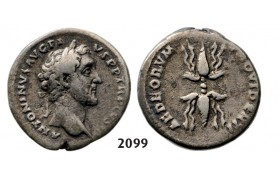 05.05.2013, Auction 2/2099. Roman Empire, Antoninus Pius, 138-161 AD, Denarius (Struck 142 AD) Rome, Silver (3.60g)