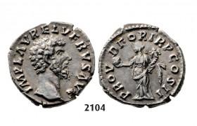 05.05.2013, Auction 2/2104. Roman Empire, Lucius Verus, 161-169 AD, Denarius (Struck 163 AD) Rome, Silver (3.17g)