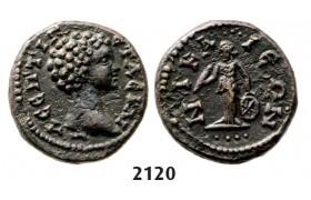05.05.2013, Auction 2/ 2120. Roman Empire, Provincial Coinage, Geta as Caeser, 198-209, Æ, Nicea (Bithynia) Bronze (3.10g)