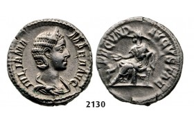 05.05.2013, Auction 2/2130. Roman Empire, Julia Mamaea, 222-­235 AD, Denarius (Struck 222 AD) Rome, Silver (3.12g)