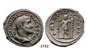 05.05.2013, Auction 2/ 2132. Roman Empire, Maximinus I Thrax, 235-238 AD, Denarius (Struck 236-238 AD) Rome, Silver (3.79g)