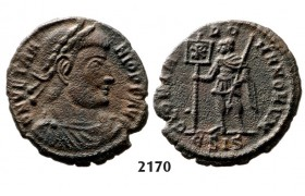 05.05.2013, Auction 2/2170. Roman Empire, Vetranio, 350 AD, Æ Centenionalis, Bronze or Billon (2.42g)