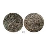 2185. Sweden, Kristina, 1632-1654, 1 Öre 1647, Avesta, Copper
