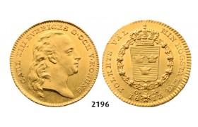 05.05.2013, Auction 2/ 2196. Sweden, Karl XIII, 1809-1818, Dukat 1813-O/L, Stockholm, GOLD