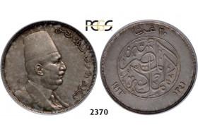05.05.2013, Auction 2/ 2370. Egypt, Ahmed Fuad I, 1922-1936, 20 Piastres AH1341 (1923) Silver, PCGS AU