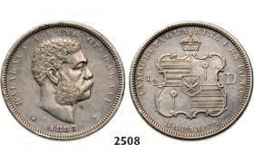 05.05.2013, Auction 2/ 2508. Hawaii, Kalakaua, 1874-1891, ½ Dollar 1883, Silver