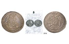 05.05.2013, Auction 2/ 2516. Hungary, Leopold, 1657-1705, Taler 1702-NB/ICB, Nagybanya, Silver
