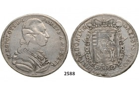 05.05.2013, Auction 2/ 2588. Italy, Tuscany, Pietro Leopold I. of Lothringen, 1765-1790, Francescone 1784, Florence, Silver