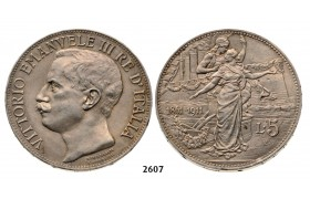05.05.2013, Auction 2/ 2607 Italy, Kingdom, Vittorio Emanuele III, 1900-1946, 5 Lire 1911-R, Rome, Silver