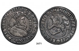 05.05.2013, Auction 2/ 2671. Norway, Christian IV, 1588­-1648, ½ Speciedaler 1629, Christiania, Silver