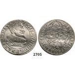 05.05.2013, Auction 2/2705. Poland, Sigismund III. Vasa, 1587-1632, 6 Groschen (Szóstak) 1596, Malbork (Marienburg) Silver