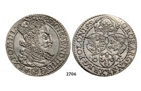 05.05.2013, Auction 2/ 2706. Poland, Sigismund III. Vasa, 1587-1632, 6 Groschen (Szóstak) 1599, Malbork (Marienburg) Silver