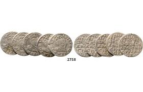 05.05.2013, Auction 2/ 2758. Poland, Lots, Silver lot
