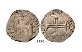 05.05.2013, Auction 2/ 2790. Portugal, Philip II, 1598-1621, Tostao (100 Reis) No Date, Lisbon, Silver
