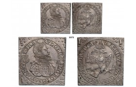 05.05.2013, Auction 2/3075. Transylvania, Rudolph II, 1576-1608, Klippe 1 ½ Taler 1608-NB, Nagybanya, Silver