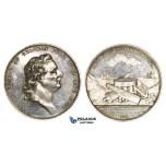 ZL29, Sweden, Silver Medal 1871 (Ø48mm, 29.71g) Fredrik Henrik Af Chapman, Navy
