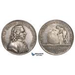 ZM135, Sweden, Silver Medal 1801 (Ø32mm, 13.02g) by Enhorning, Anders Celsius, Rare!