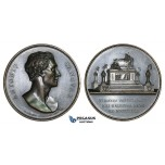 ZM290, Italy, Bronze Medal 1823 (Ø46mm, 41.1g) by Fabris, Antonio Canova, On his Death