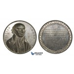 ZM655, Great Britain, Tin Medal 1838 (Ø44mm, 28g) by Davis, William Carey, Slavery Abolished, West Indies
