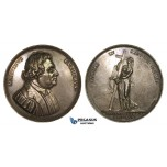 ZM953, Denmark & Germany, Silver Medal 1817 (Ø55mm, 79.8g) by Jacobson, Martin Luther, 300 Years of Reformation
