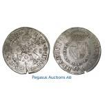 A57, Netherlands, Utrecht, Burgundy Taler 1568, Silver (28.26g) Del. 102, Die crack!