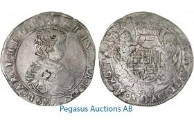 A59, Belgium, Brabant, Ducaton 1670, Antwerp, Silver (32.79g) Del. 327