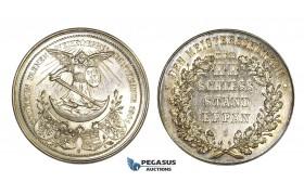 AA007 Austria & Italy, Tyrol, Silver Medal 1901 (Ø39mm, 21.1g) Eppan Shooting Contest, Rare!