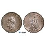 AA117, Great Britain, George III, Farthing 1799, Soho, Lustrous aUNC