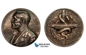 AA783, Sweden, Silver Medal 1920 (Ø27mm, 12g)  Alfred Nobel, Swedish Medical Society