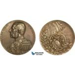 AA985, Sweden, Bronze Medal 1900 (Ø50mm, 61g) by Lindberg, Admiral Fredrik Wilhelm von Otter, Polar Expedition