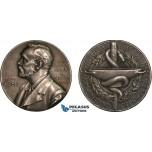 AA993, Sweden, Silver Medal 1947 (Ø27mm, 12g) Alfred Nobel, Swedish Medical Society