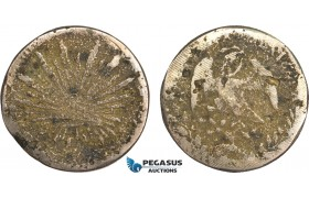 AB140, Mexico, Revolutionary, Sinaloa, Buelna/Carrasco, 8 Reales ND, Cast Silver (32.05g)