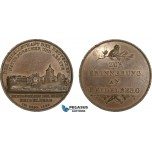 AB199, Germany, Bronze Medal 1829 (Ø40mm, 30.5g) by Loos, Owl, Doctors Society
