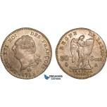 AB351, France, Louis XVI, 30 Sols 1792-A, Paris, Silver, Toned AU