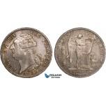 AB353, France, Louis XVI, Ecu 1792-A, Paris, Silver, Toned & Lustrous AU