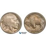 AB413-R, United States, Buffalo Nickel (5C) 1916-S, San Francisco, XF-AU