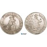 AB527, Sweden, Kristina, Riksdaler 1640, Stockholm, Silver (28.56g) SM 11, Lustrous aXF