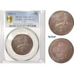 AB615, German New Guinea, 10 Pfennig 1894-A, Berlin, PCGS MS64BN
