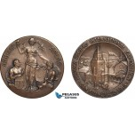 AB963, United States & Sweden, Bronze Medal 1915 (Ø32mm, 18.03g) Panama Pacific International Exposition, Rare!