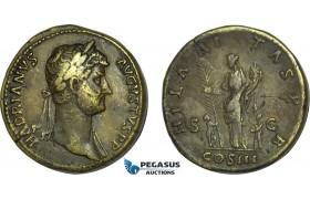 AB993, Roman Empire, Hadrian (AD 117-138) Æ Sestertius (26.03g) Rome, AD 128-132, Hilaritas