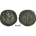 AB997, Roman Empire, Faustina I (AD 141-161) Æ Sestertius (21.18g) Rome, AD 146-161, Aeternitas