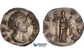 AB998, Roman Empire, Faustina I (AD 141-161) AR Denarius (3.80g) Rome, 146-161, Ceres