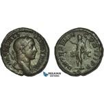 AC014, Roman Empire, Severus Alexander (AD 222-235) Æ As (10.82g) Rome, AD 230, Sol