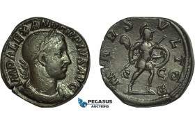AC015, Roman Empire, Severus Alexander (AD 222-235) Æ Sestertius (19.59g) Rome, AD 232, Mars